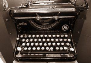 Skrivemaskine - Artikel